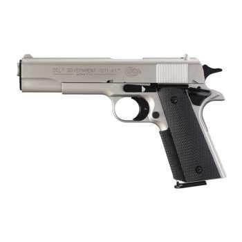 Пневматический пистолет Umarex Colt Government 1911 A1 Никель 4,5 мм