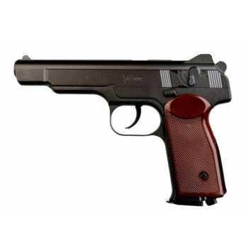 Пневматический пистолет Umarex АПС с подарочным набором №2 (кобура, баллоны, шарики)