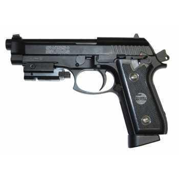 Пневматический пистолет Swiss Arms P 92 с ЛЦУ 4,5 мм
