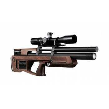 Пневматическая винтовка Cricket стандарт орех с кейсами под барабаны 6,35 мм
