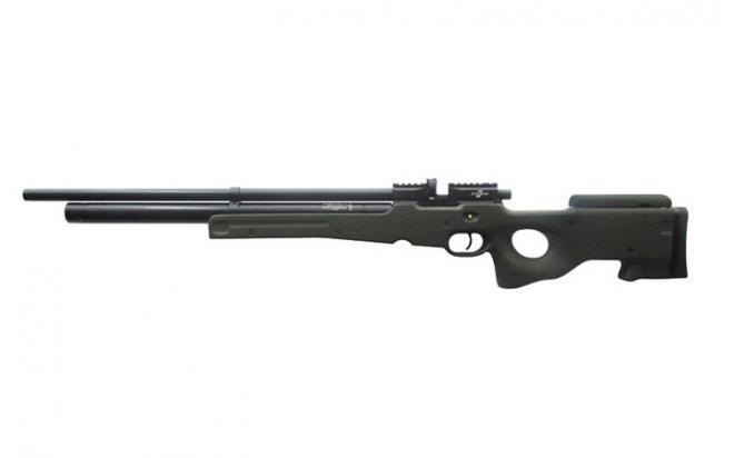 Пневматическая винтовка Ataman M2R Тип II Тактик 6,35 мм (Зелёный)(магазин в комплекте)(336/RB)