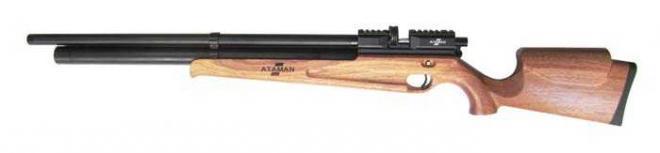 Пневматическая винтовка Ataman M2R Эксклюзив 6,35 мм (тип дерева- сапель, магазин в комплекте)