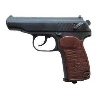 Пневматический пистолет МР 654К-38 (300-500 серия) пластиковая рукоятка 4,5 мм