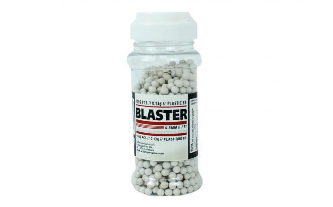 Шарики ВВ Blaster пластиковые 4,5 мм 0,13 гр 1000 шт.
