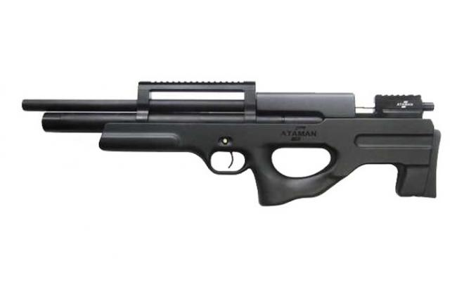 Пневматическая винтовка Ataman M2R Булл-пап укороченная 6,35 мм (Черный)(магазин в комплекте)(426C/RB)