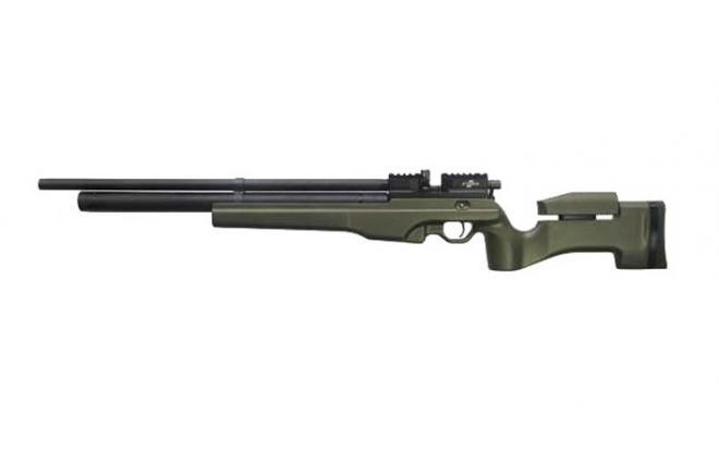 Пневматическая винтовка Ataman M2R Тип I Тактик 5,5 мм (Зелёный)(магазин в комплекте)(235/RB)