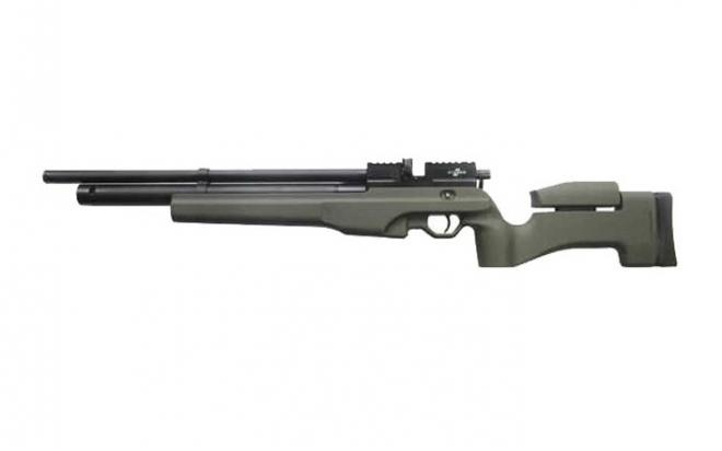 Пневматическая винтовка Ataman M2R Тип I Тактик укороченная 6,35 мм (Зелёный)(магазин в комплекте)(236С/RB)