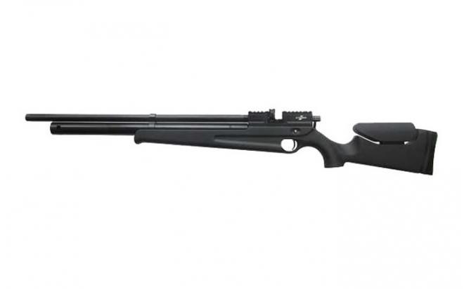 Пневматическая винтовка Ataman M2R Карабин Soft Touch 5,5 мм (Черный)(магазин + модератор)(125X/RB)