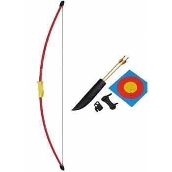 Лук рекурсивный классический Junior 10 фунтов, 36 дюймов (Recurve Bow Set (RED)) MK-RB009