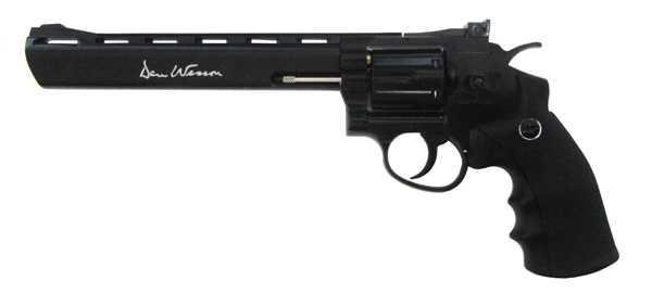 Пневматический револьвер ASG Dan Wesson 8 пулевой 4,5 мм