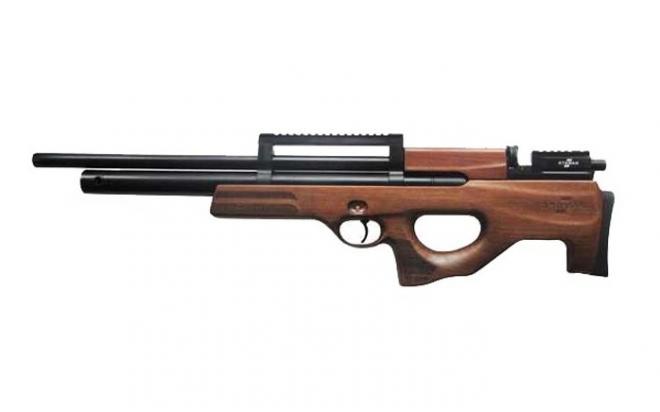 Пневматическая винтовка Ataman M2R Булл-пап 9 мм (Дерево)(магазин + модератор)(H419/RB)