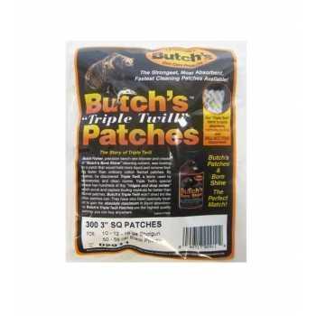 Патчи Luman Butch`s для чистки гладкоствольного оружия калибров 12, 16, 20 (300 шт) (02911)