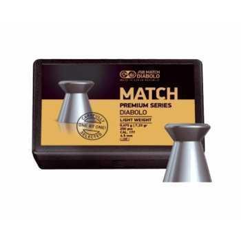 Пули пневматические JSB Match Premium Light 4,5 мм 0,475 грамма (200 шт.)