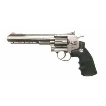 Пневматический пистолет Gletcher SW R6 Silver 4,5 мм