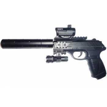 Пневматический пистолет Gamo P-25 Tactical Blowback pellet 4,5 мм