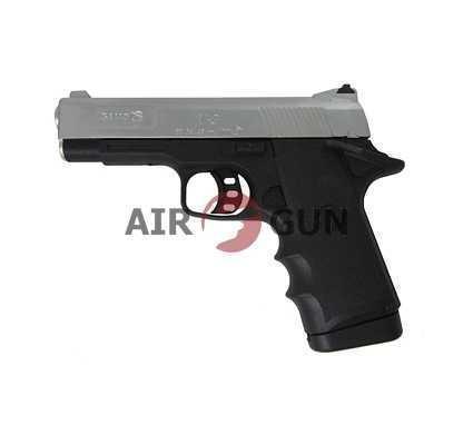 Пневматический пистолет Gamo V3 nickel 4,5 мм