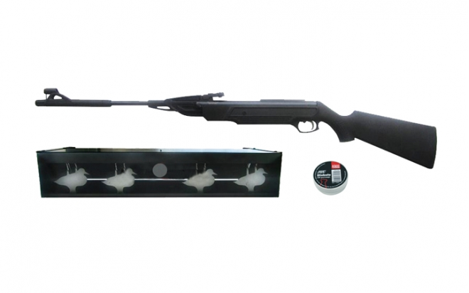 Пневматическая винтовка МР-512 + пули (200 шт.) + минитир Air-Gun