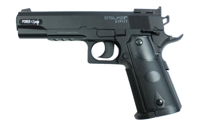 Пневматический пистолет Stalker S1911T 4,5 мм (ST-12051T)