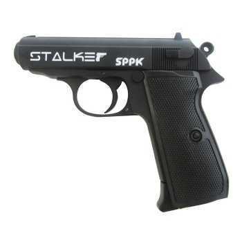 Пневматический пистолет Stalker SPPK (аналог Walther PPK/S) металл, черн. 4,5 мм (ST-21061P)