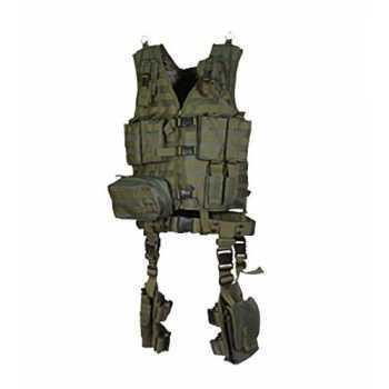 Полная тактическая разгрузка UTG Leapers зеленый (10 предметов) (PVC-V747KTG)