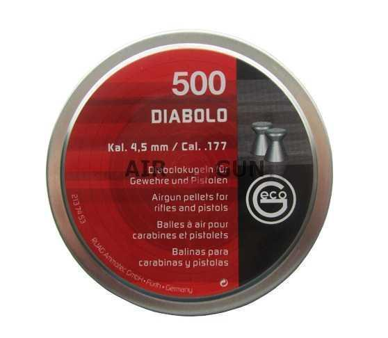 Пули пневматические RWS Geco Diablo 4,5 мм 0,45 гр