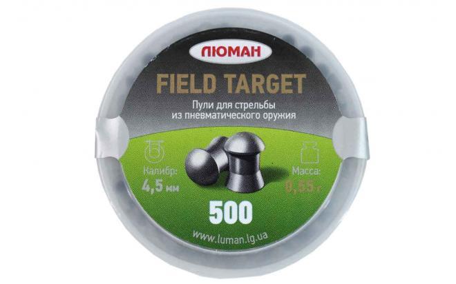 Пули пневматические Люман Field Target 4,5 мм 0,55 грамма (500 шт.)