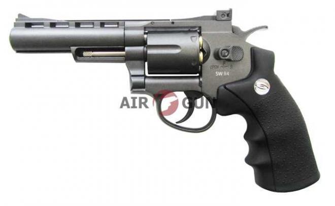Пневматический пистолет Gletcher SW R4 Black 4,5 мм