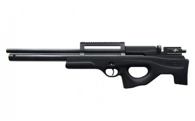 Пневматическая винтовка Ataman M2R Булл-пап 7,62 мм (Зелёный)(магазин + модератор)