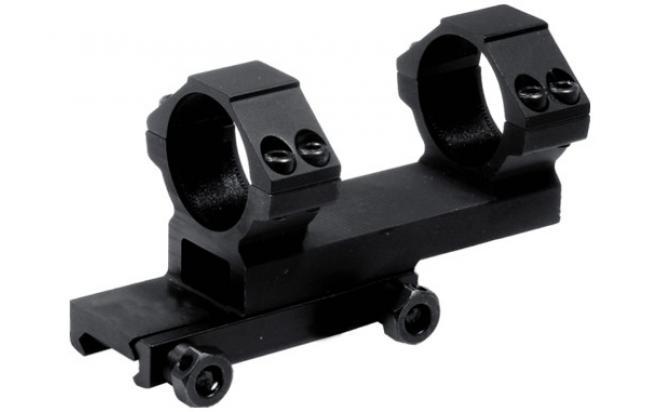 Кронштейн LEAPERS небыстросъемн., кольца 25,4 мм., на Weaver/Picatinny, вынос 38 мм. (RGWMOFS38-25H4)