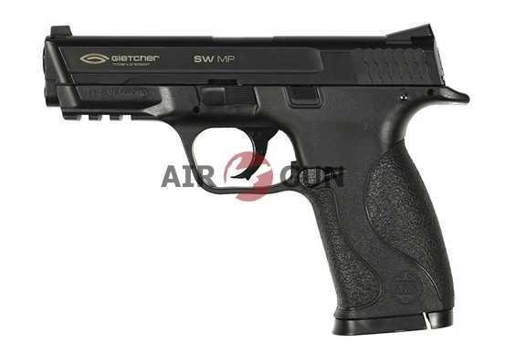 Пневматический пистолет Gletcher SW MP пластик 4,5 мм + 2 магазина в подарок