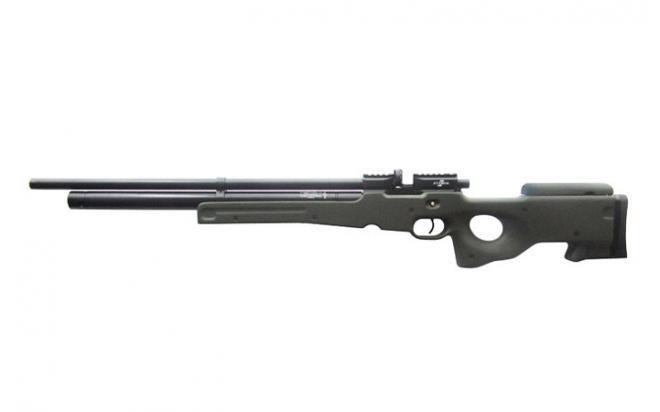 Пневматическая винтовка Ataman M2R Тип II Тактик укороченная 6,35 мм (Зелёный)(магазин в комплекте)(336C/RB)