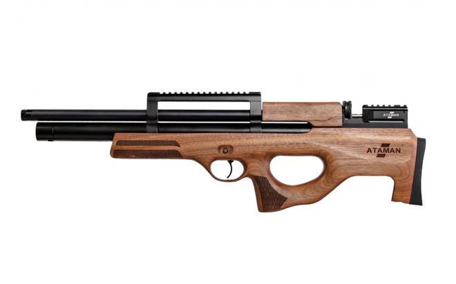Пневматическая винтовка Ataman M2R Булл-пап укороченная 6,35 мм (Дерево)(магазин в комплекте)(816C/RB)