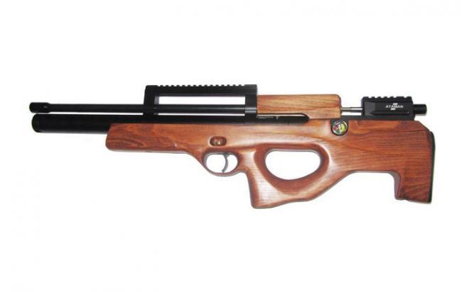 Пневматическая винтовка Ataman ML15 Булл-пап 5,5 мм (Дерево)