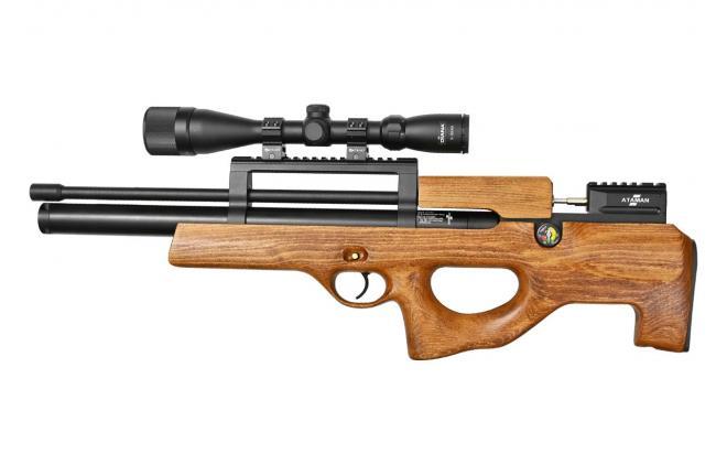 Пневматическая винтовка Ataman ML15 Булл-пап 4,5 мм (Дерево)