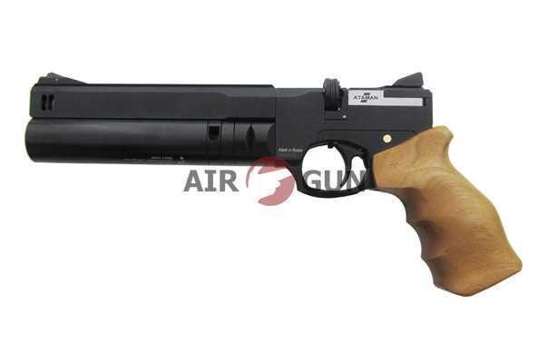 Пневматический пистолет Ataman AP16 компакт дерево 5,5 мм