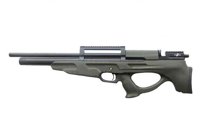 Пневматическая винтовка Ataman M2R Булл-пап 6,35 мм (Зелёный)(новый дизайн)(836/RB)