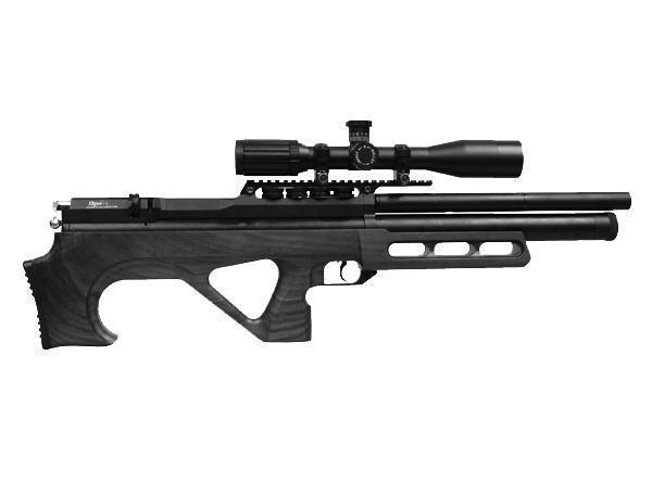 Пневматическая винтовка EDgun Матадор R3M удлиненная 6,35 мм (черный)