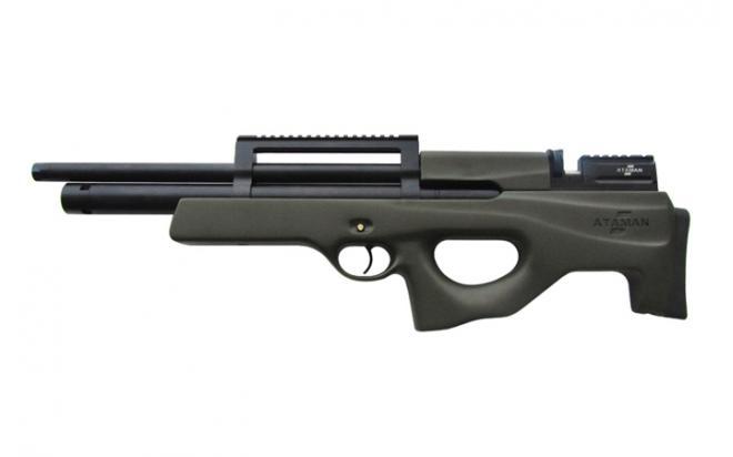 Пневматическая винтовка Ataman SL Булл-пап 6,35 мм (Зелёный)(магазин в комплекте)(436C/RB-SL)