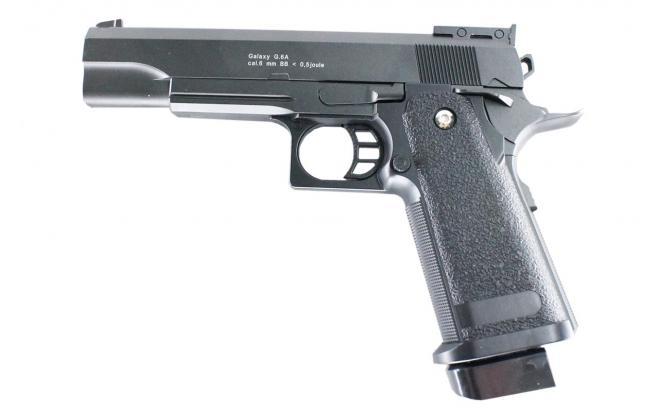 Модель пистолета COLT1911PD с глушителем и ЛЦУ (Galaxy) G.6A