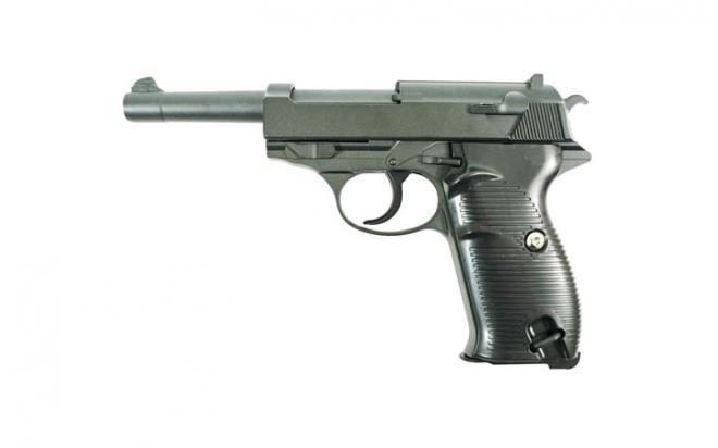Модель пистолета Walther P38 (Galaxy) G.21