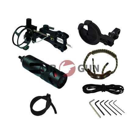 Комплект аксессуаров для блочного лука II уровня, черный (MH2000B)