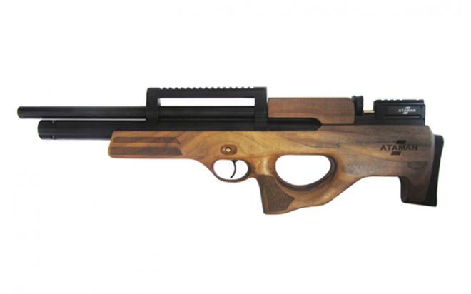 Пневматическая винтовка Ataman SL Булл-пап 6,35 мм (Дерево)(магазин в комплекте)(416C/RB-SL)