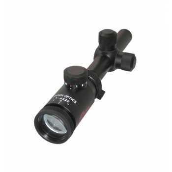 Оптический прицел Hakko B1Z-IL-1422 1-4X22 R:24EP с подсветкой (11422)