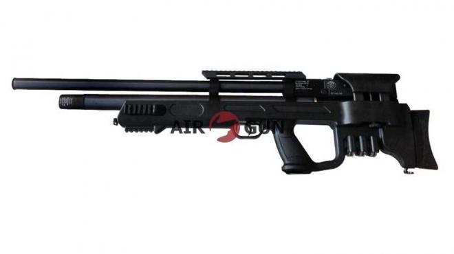 Пневматическая винтовка Hatsan Gladius QE bullpup с интегрированным модератором 4,5 мм