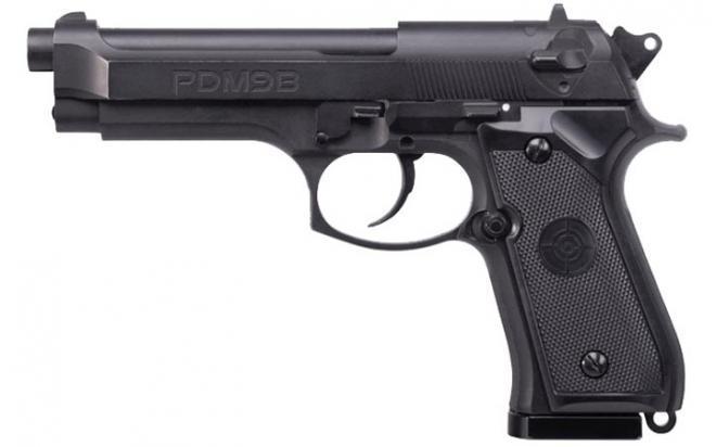 Пневматический пистолет Crosman PDM9B Blowback 4,5 мм