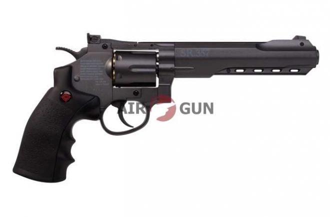 Пневматический пистолет Crosman SR357 Black 4,5 мм