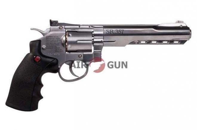 Пневматический пистолет Crosman SR357 Silver 4,5 мм