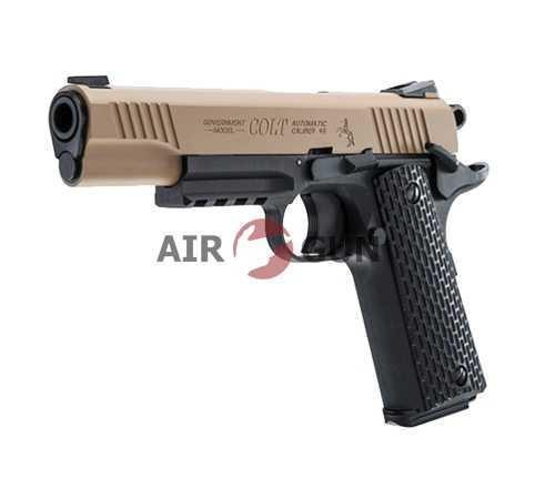 Пневматический пистолет Umarex Colt M45 CQBP Blowback 4,5 мм