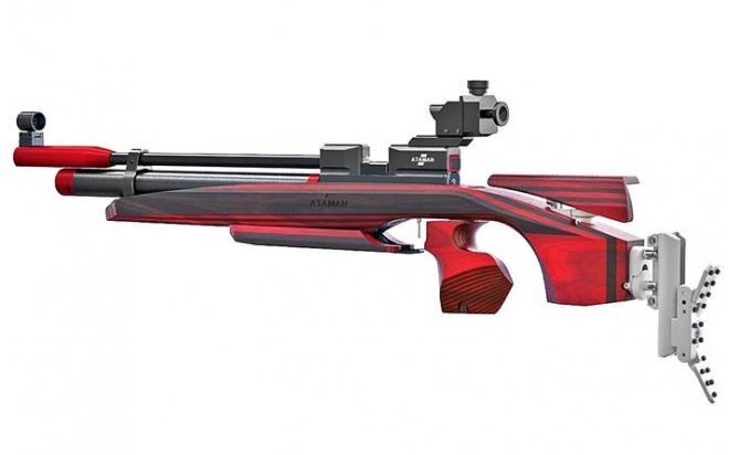 Пневматическая винтовка Ataman M2R Sport Match 4,5 мм (Дерево)(магазин в комплекте)(1484/RB)