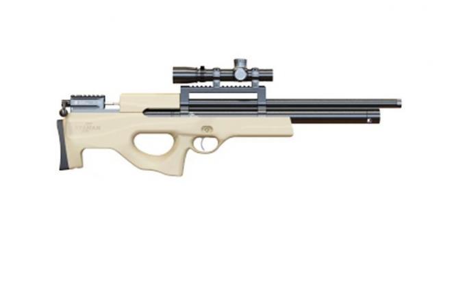 Пневматическая винтовка Ataman M2R Булл-пап 4,5 мм (Песочный)(магазин в комплекте)(444/RB)